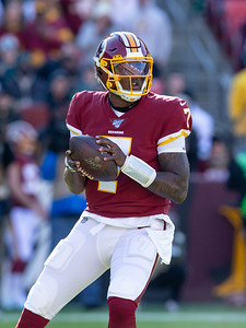 December 15, 2019 - In a loss to the Philadelphia Eagles December 15, Quarterback Dwayne Haskins Jr.had one of his best days as a pro with two touchdowns, 261 yards of passing, and 26 yards rushing. Photo by Mike Clark/The Montgomery Sentinel