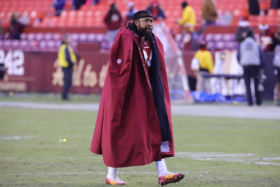 George P. Smith/The Montgomery Sentinel    Washington Redskins' Josh Norman (24) walks off the field after the OT loss to the NY Giants.