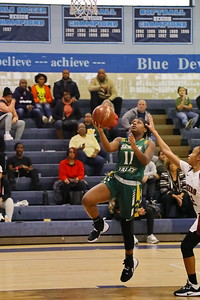George P. Smith/The Montgomery Sentinel    Seneca Valley's Jasia Oliver (11) with the layup.