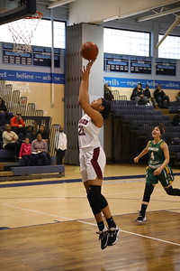 George P. Smith/The Montgomery Sentinel    Takoma Academy's Kyleigh Smith (22) with the easy uncontested jumper.