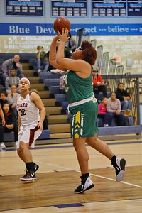 George P. Smith/The Montgomery Sentinel    Seneca Valley's Bryana Barber (50) scores from the paint.