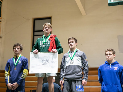 December 28, 2019 - Michael Emerick of Damascus moves up to the 138-lb. weight class and takes first in the Damascus Holiday Tournament on December 28. Photo by Mike Clark/The Montgomery Sentinel
