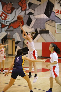 George P. Smith/The Montgomery Sentinel    Montgomery Blair's Peyton Martin (10) launches a shot from beyond the arc.