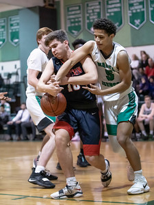 January 13, 2020 - Wootton and Walter Johnson High Schools battled to the final buzzer with Wootton coming away with a one-point victory at WJ on January 13, 2020. Photo by Mike Clark/The Montgomery Sentinel