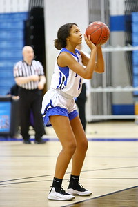George P. Smith/The Montgomery Sentinel    Blake's Nadia Wilson (3) at the charity stripe.