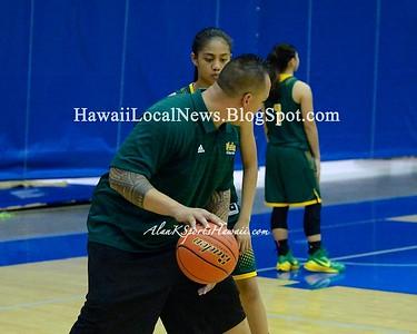 MoHS Girls Basketball vs Leilehua FHB Tournament