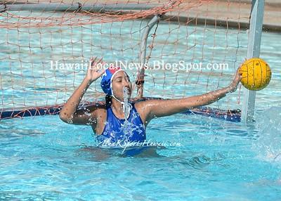 MoHS Na Menehune  Varsity Girls 2016 WaterPolo vs Castle Knights