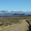 La Sal Mtns from Salt Valley