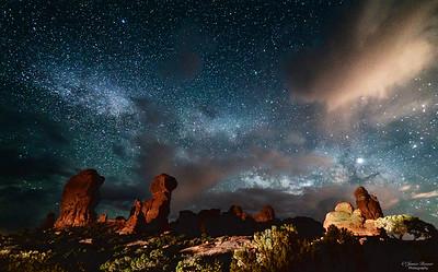 Devil's Garden Milky Way