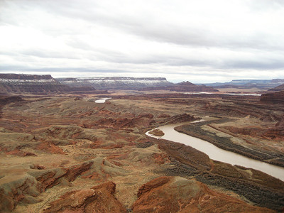 View of Colorado River from top of AmasaBack