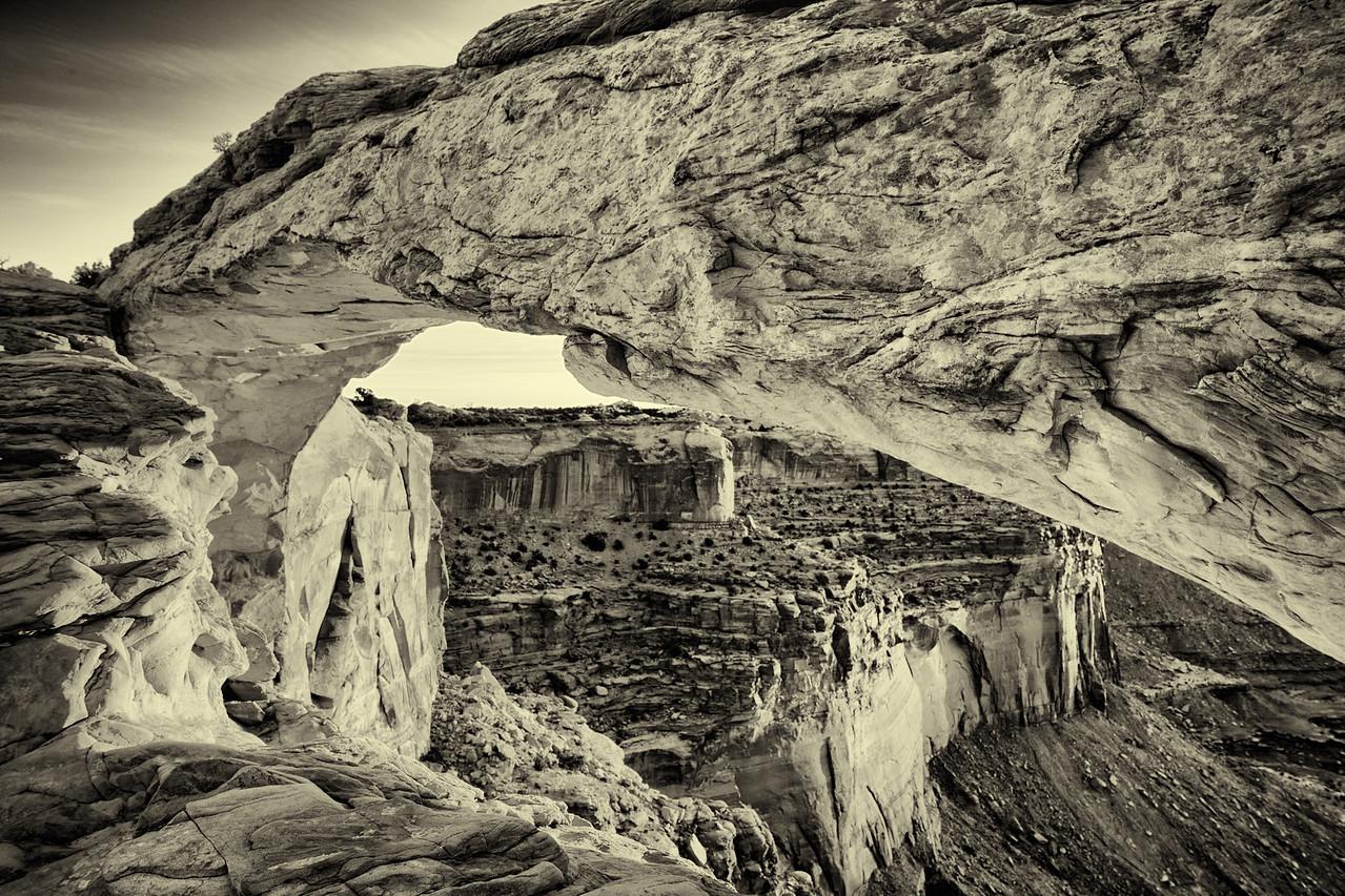 Mesa Arch Structure