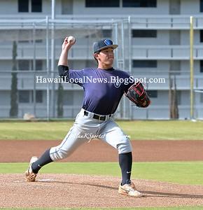 Moanalua 2016 Varsity Boys Baseball vs Iolani Raiders