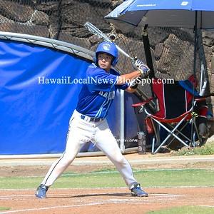 Moanalua Varsity Boys Baseball vs Kailua 2016 (8-7)