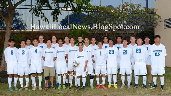 Moanalua Varsity Boys Soccer 2016 OIA Playoff vs Leilehua (3-0)