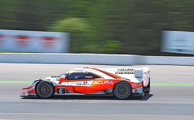 Mazda 1-3, Acura 2-4 Twenty Five minutes into the race.