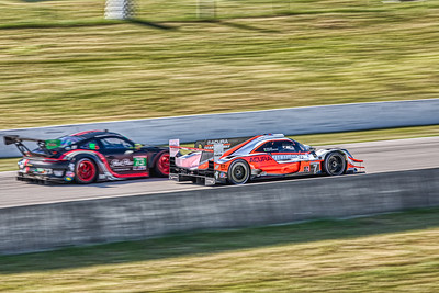 2019 Mobil 1 SportsCar Grand Prix @ Canadian Tire Motorsport Park - Ricky Taylor and Helio Castroneves in the #7 Acura DPi - Acura Team Penske AND Patrick Long and Patrick Lindsey in the #73 Porche 911 GT3 R - Park Place Motorsports