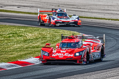 2019 Mobil 1 SportsCar Grand Prix @ Canadian Tire Motorsport Park - Pipo Derani and Filipe Nasr in the #31 Cadillac DPi - Whelen Engineering Racing AND Ricky Taylor and Helio Castroneves in the #7 Acura DPi - Acura Team Penske