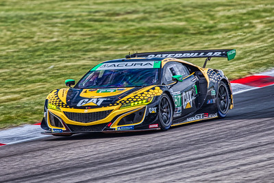 2019 Mobil 1 SportsCar Grand Prix @ Canadian Tire Motorsport Park - Katherine Legge and Bia Figueiredo in the #57 Acura NSX GT3 - Meyer Shank Racing w/ Curb-Agajanian