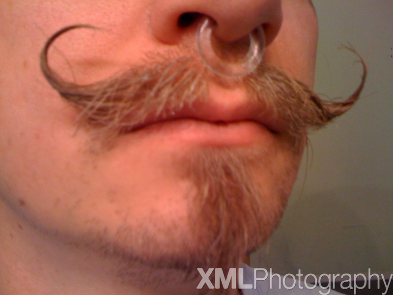 My Mustache, Summer 2009