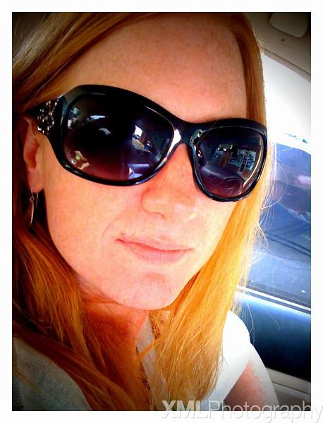 Marisa in shades