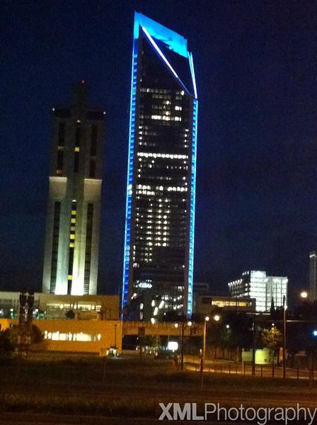 Carolina Panthers Game Night Lights