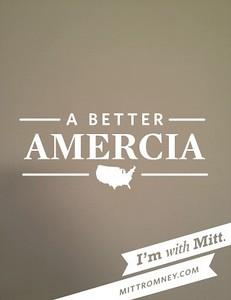 Amercia Mitt Romney