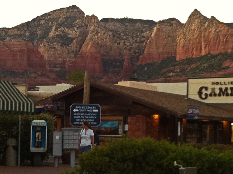 Pretty much everywhere you look in Sedona looks like this.