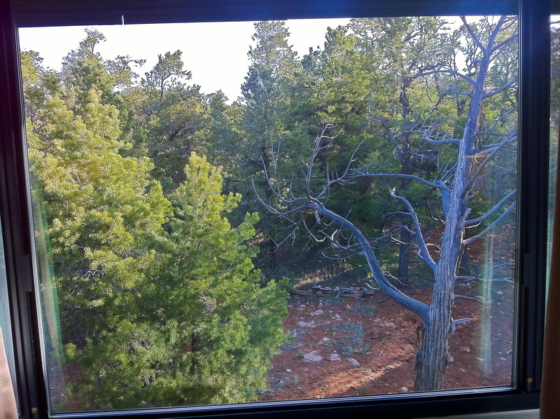 Nice View - The view from our hotel in Grand Canyon, AZ
