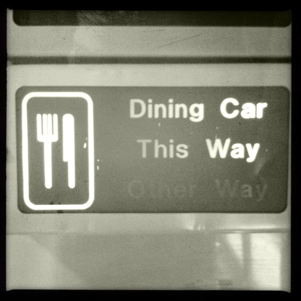 Dining Car This Way
