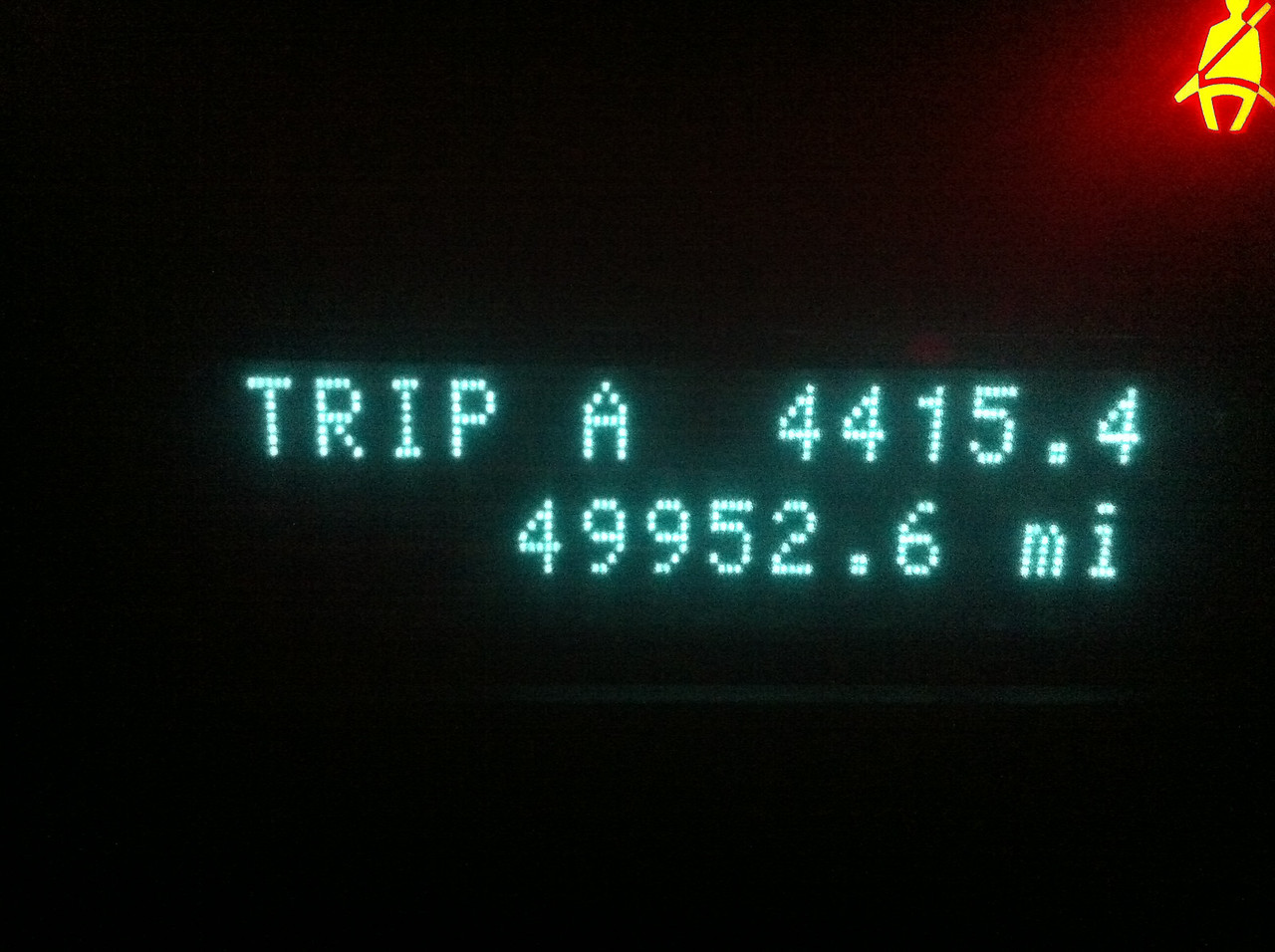 Total miles driven: 4415.4