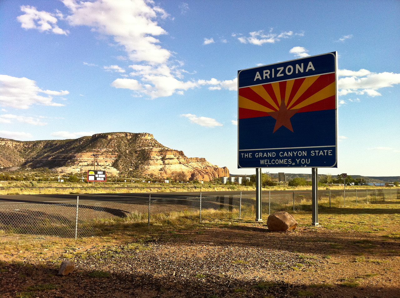 Arizona - The Grand Canyon State welcomes you