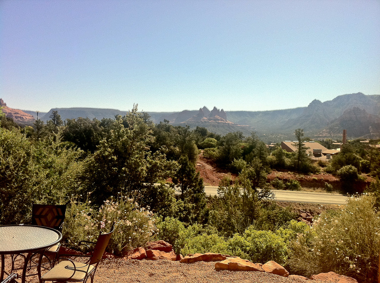Nice View - The view from our hotel in Sedona, AZ