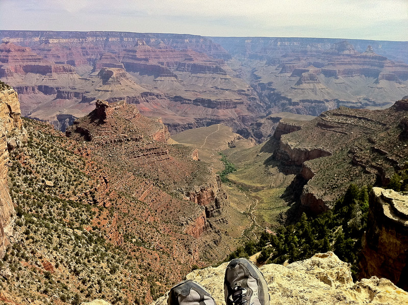 Chilling at the Grand Canyon