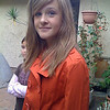 My 14 year-old going on 20 is dressed for church. Photo taken with iPhone 3G on Nov. 11, 2008.