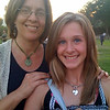 My wife and daughter smile near the U.S. Capitol on Aug, 9, 2008.