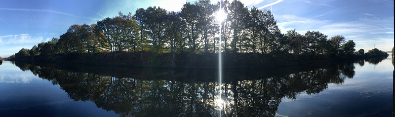 Manchester Ship Canal Panoramic