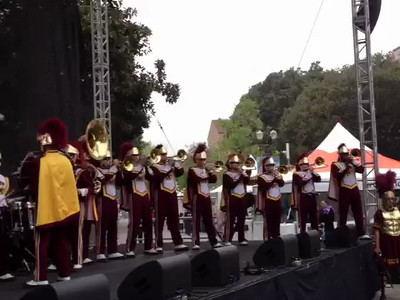 Lady Gaga Cover by the USC Band at LA Book Festival 2012