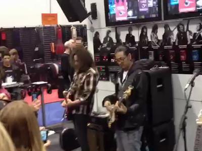NAMM 2012 Anaheim Ca. Booth Jam