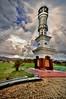 Mosque near Bukittinghi, Sumatra