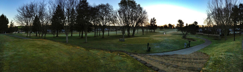 Golf Course iPhone Panoramic
