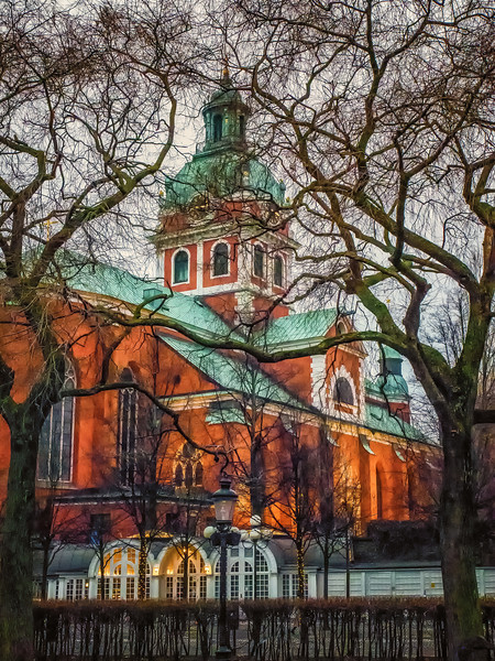 Stockholm Church in Winter