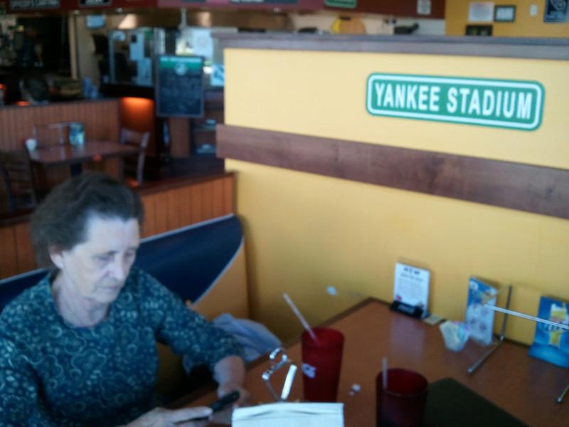 Nana at Yankee Stadium