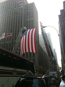 Wounded Warrior Project Sponsoring an event with the NYFD in NYC 7-21-11.