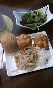 Lufthansa lounge food - man I love that place