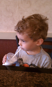 daddy son lunch at brigs