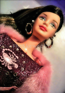 Scorpio Barbie #2 - I think the loud trance was taking effect.  That or the G.