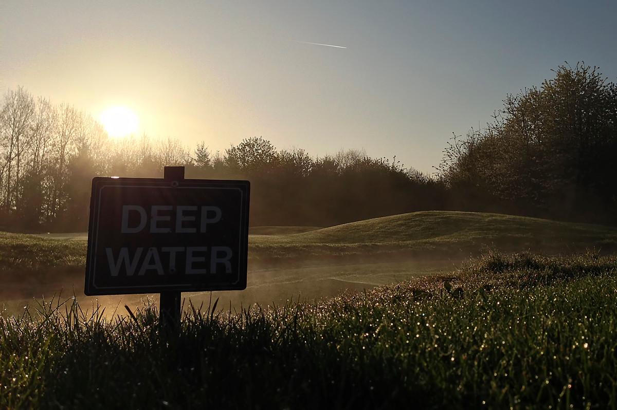 7th Hole, Leckford's New Golf Course.