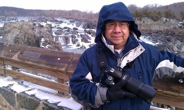 Dad at Great Falls<br /> 1/8/11