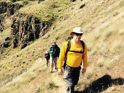 Palouse Falls Hike 4/415
