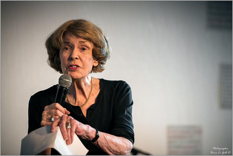 Susan George à l'occasion des 20 ans d'Attac. Paris, le 2 juin 2018.